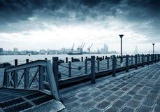 China Shanghai Huangpu River Royalty Free Stock Photos