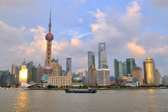 China Shanghai Landmark, Pudong District Stock Images