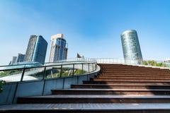 China Shanghai Lujiazui financial district Stock Image