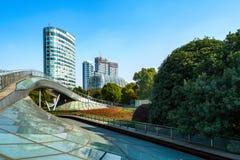 China Shanghai Lujiazui financial district Royalty Free Stock Photo