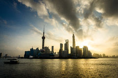 China Shanghai Lujiazui Royalty Free Stock Photography
