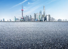 China Shanghai Lujiazui Stock Photography