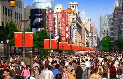 china shanghai nanjing road Royalty Free Stock Photography