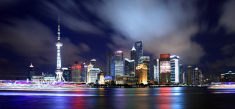 China shanghai panorama Royalty Free Stock Images
