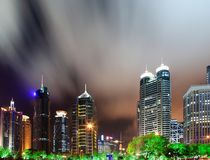 China shanghai panorama Stock Image