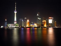 China Shanghai -Pearl tower- view 2 royalty free stock photos