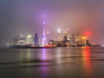 China Shanghai Pudong Bright Royalty Free Stock Images