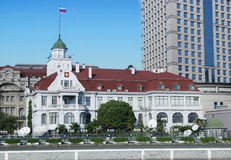China Shanghai the russian consulate Royalty Free Stock Photos