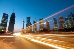 China Shanghai Skyline Royalty Free Stock Image