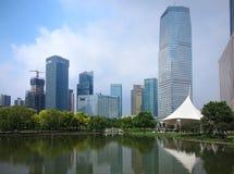 China Shanghai Skyline Royalty Free Stock Photography