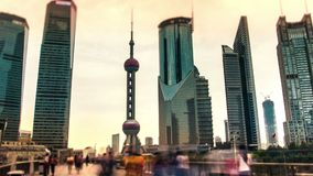 China. Shanghai.Time lapse. stock video