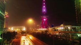 China. Shanghai.Time lapse. stock footage