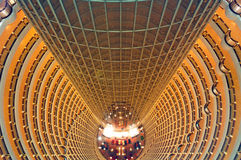 China, Shanghai: Torre de Jinmao Foto de Stock Royalty Free