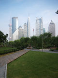 China Shanghai Urban, Skyline Royalty Free Stock Image