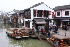 China Shanghai Village  landscapes Stock Photos