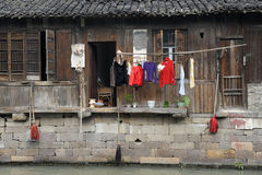 China,Shanghai water village Wuzhen Stock Images