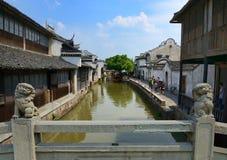 China,Shanghai water village Wuzhen stock photo