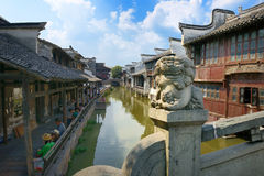 China,Shanghai water village Wuzhen 1 Royalty Free Stock Images