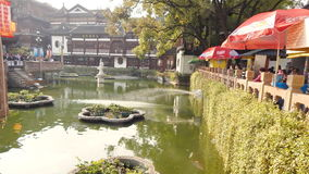 China, Shanghai, Yuyuan-Garten stockfotografie