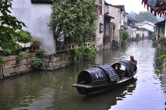 China Shaoxing Village  landscapes Royalty Free Stock Photo