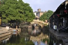 China Shaoxing Village  landscapes Royalty Free Stock Photos