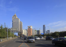 China Shenyang city buildings and roads Stock Images