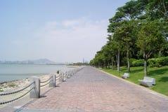 China shenzhen bay landscape road Stock Photos