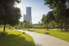 China Shenzhen Central Park scenery Royalty Free Stock Images