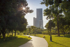 China Shenzhen Central Park scenery Stock Image