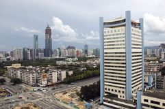 China, Shenzhen cityscape Royalty Free Stock Photography