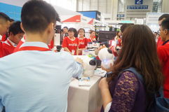 China Shenzhen consumer electronics and home appliances brand exhibition Stock Image