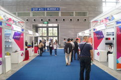 China Shenzhen consumer electronics and home appliances brand exhibition Royalty Free Stock Photos
