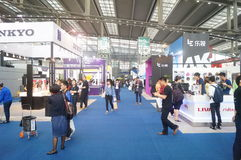 China Shenzhen consumer electronics and home appliances brand exhibition Royalty Free Stock Images