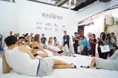2015 China (Shenzhen) international brand underwear Exhibition Royalty Free Stock Photo
