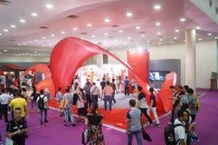 China (Shenzhen) international brand underwear Exhibition (SIUF). And Shenzhen international underwear OEM and accessories exhibition, held in Shenzhen Stock Photo