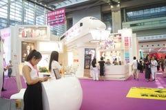 China (Shenzhen) international brand underwear Exhibition (SIUF). And Shenzhen international underwear OEM and accessories exhibition, held in Shenzhen Stock Images