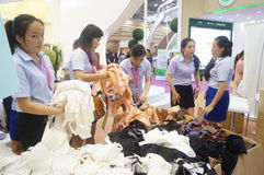 China (Shenzhen) international brand underwear Exhibition (SIUF) Stock Image