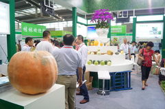 China (Shenzhen) International Modern Green Agricultural Expo Stock Photography