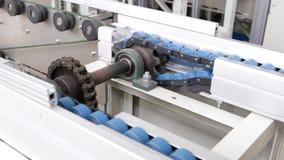 China, Shenzhen - 15 June 2017 a moving mechanism, gear spinning, roller chain