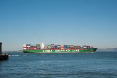 China Shipping Line Royalty Free Stock Image