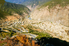 China Sichuan Daocheng landscape Stock Photography