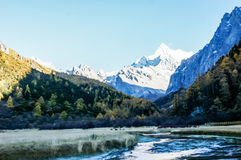 China Sichuan Daocheng landscape Royalty Free Stock Image