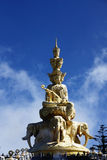 China Sichuan Emei Jinding giant statue of Samantabhadra Royalty Free Stock Image