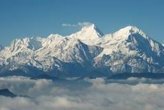 China Sichuan, Ganzi Cattle mountain scenery,  Stock Image