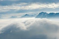 China Sichuan, Ganzi Cattle mountain scenery,  Royalty Free Stock Photo