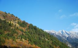 China Sichuan Jiuzhaigou scenery Royalty Free Stock Photos