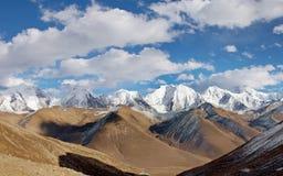 China, Sichuan, prefectura de Ganzi, nieve de Gongga Imagenes de archivo