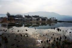 China small village Stock Photo