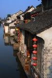 China small village Royalty Free Stock Image