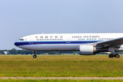 China Southern Airbus A330 royalty free stock image
